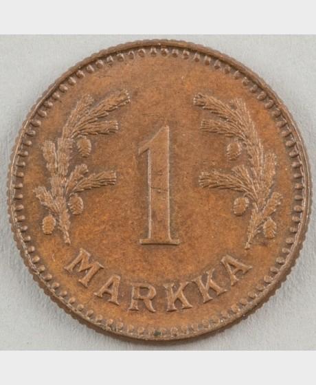 1 markka 1949 (Cu)