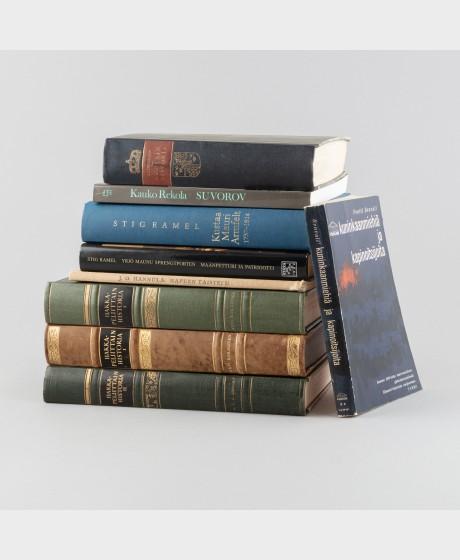Kirjoja, 9 kpl