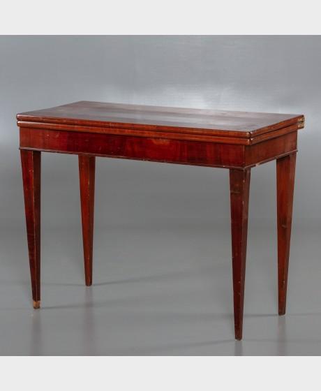 Pelipöytä, 1800-luku