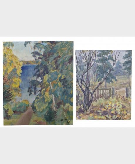 Bruno Tuukkanen ja maalaus