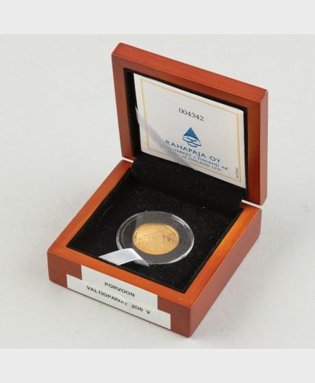 Kultaraha, Suomi 100 € 2009