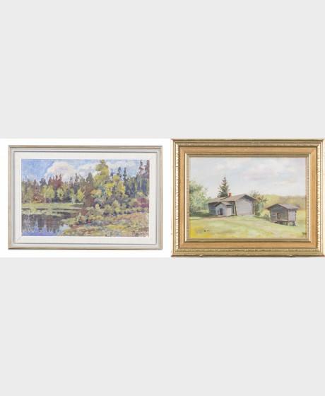 N. Eklund ja maalaus