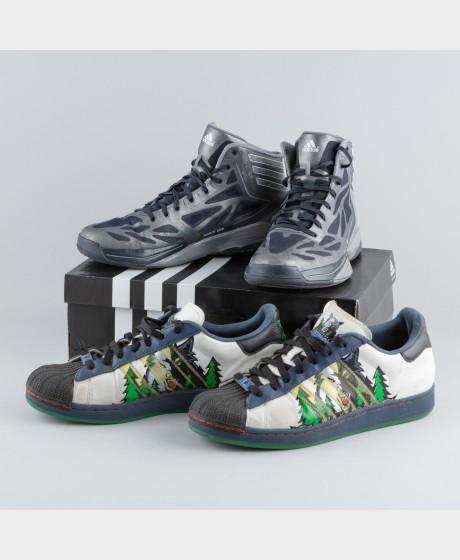 Kaksi paria kenkiä, Adidas