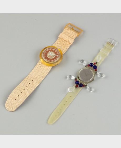 Swatch POP rannekelloja, 2 kpl