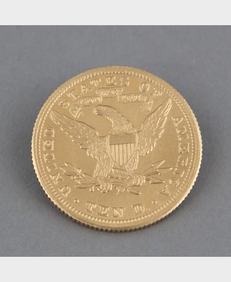 Kultaraha, 10 dollaria 1901