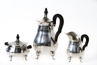 Kahvikalusto, 3 osaa