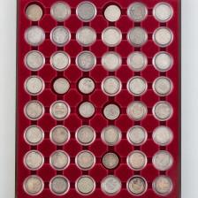 Hopearahoja 58 kpl, Venäjä 20 kopeekka, 1779-1916