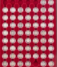 Hopearahoja 57 kpl, Venäjä 5 kopeekka, 1758-1915