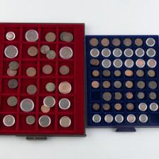 Erä kolikoita, noin 80 kpl, Venäjä 1/2 & 1/4 kopeekka, 1700-1900-luku