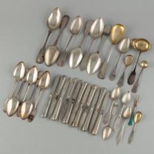 Erä hopea-aterimia
