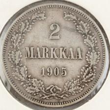 Hopearaha, Suomi 2mk 1905