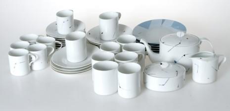 Kahvi- ja mokka-astiasto