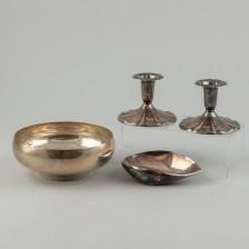 Valikoima hopeaa, 4 kpl