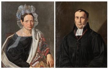 Berndt Godenhjelm, väitetty ja tuntematon taiteilija, 1800-luvun puoliväli