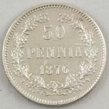 50 penniä 1876