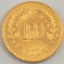 Kultaraha, Suomi 100 mk 1926