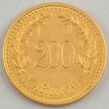 Kultaraha, Suomi 200 mk 1926