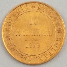Kultaraha, Suomi 10 mk 1879