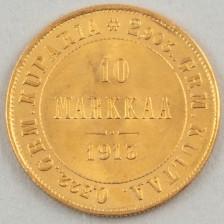 Kultaraha, Suomi 10 mk 1913