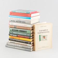 Kirjoja, 16 kpl