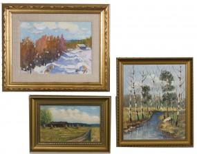 V.Nikkanen ja  maalauksia, 2 kpl