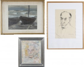 Hjalmar Grahn, Ina Colliander ja Ulla Malm
