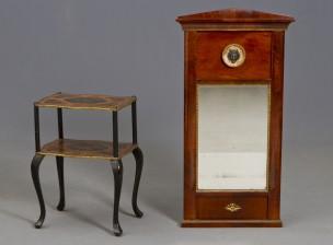 Sivupöytä ja peili