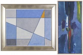Aune Vikström ja maalaus