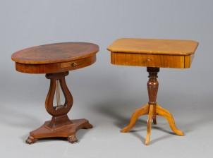 Ompelupöytä ja pöytä