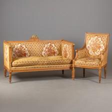 Sohva ja nojatuoli