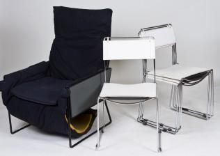 Tuoleja, 4 kpl ja nojatuoli