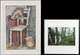 Heikki Säynävirta ja maalaus