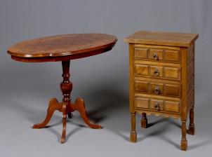Lipasto ja pöytä
