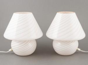 Pöytälamppupari