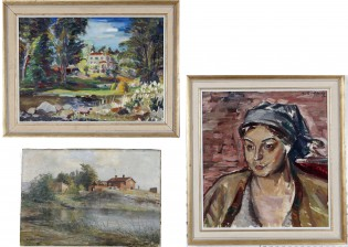 A. Lindforss, E. Rapp ja maalaus