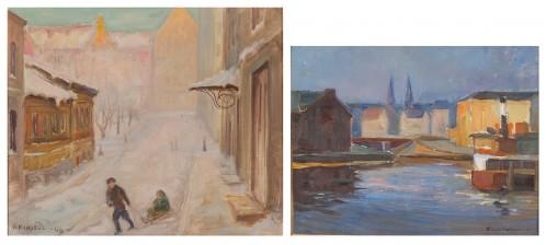 Klaus Kalima ja O.Forsell*