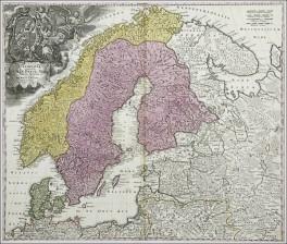 Skandinavian kartta