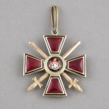 Pyhän Vladimirin ritarikunta, 4. luokka miekkoineen