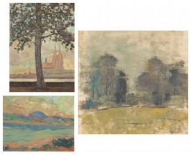 Eero Kumlin, Viljo Alanko ja maalaus