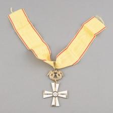 Vapaudenristin 1. luokka miekkojen kera - 1918