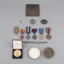 Kunniamerkkejä, henkilökokonaisuus (jääkärivääpeli Frans Verner Vahala)