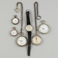 Erä kelloja, 6 kpl