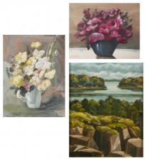 Helge Monten, 2 kpl ja maalaus