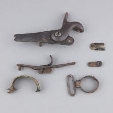 Jalkaväenmusketti m/1845 lukko
