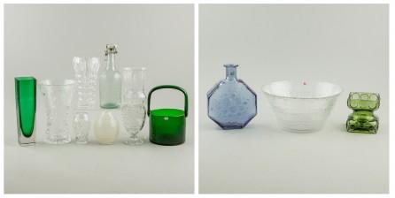 Erä lasia ja kristallia