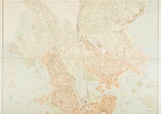 Plan öfver Helsingfors stad och dess ägor