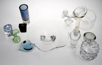 Erä taidelasia ja lasia