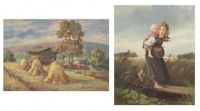 Aarne Alanko ja A. Silfverberg