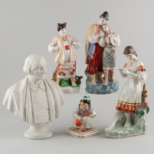 Figuriineja, 5 kpl