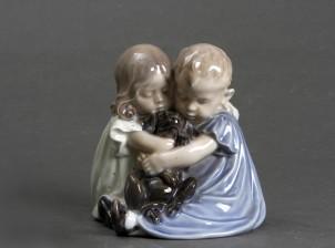 Figuriini, Lapset & koiranpentu